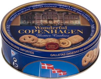 Печенье в жестяной банке