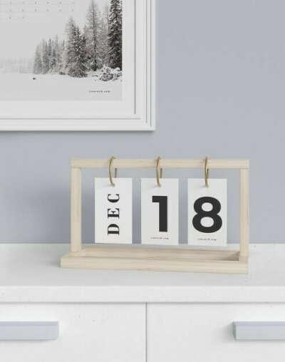 Календарь на кольцах