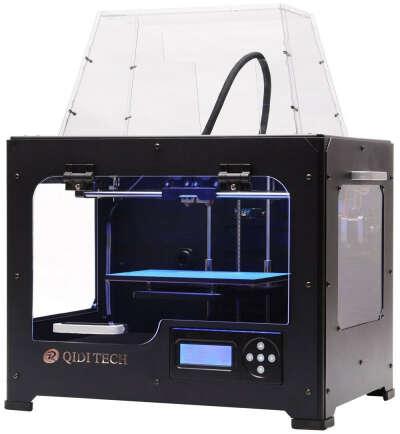 QIDI TECHNOLOGY Dual Extruder Desktop 3D Printer QIDI TECH I, Fully Metal Frame Structure,W/2 Free Filaments