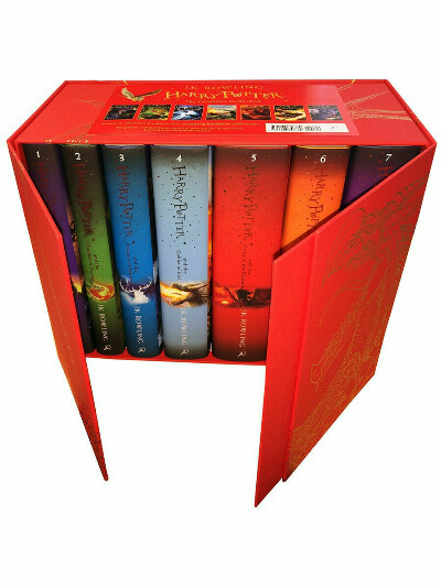 Harry Potter Box Set:The Complete Collection HB, Bloomsbury