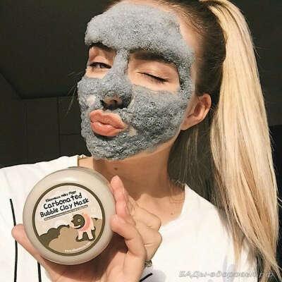 Маска для лица Bioaqua Carbonated Bubble Clay Mask