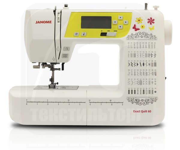 Швейная машина Janome Exact Quilt 60 (eq 60)