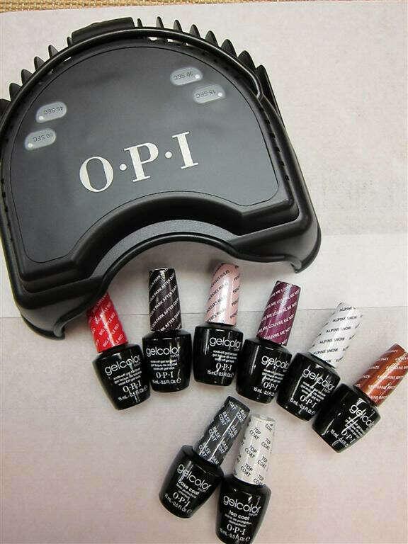 LED cушка гель лаков от OPI