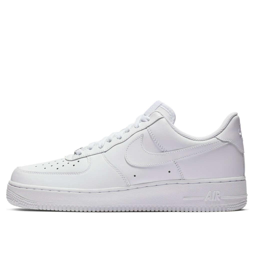Белые низкие кроссовки Nike Air Force 1 Sage