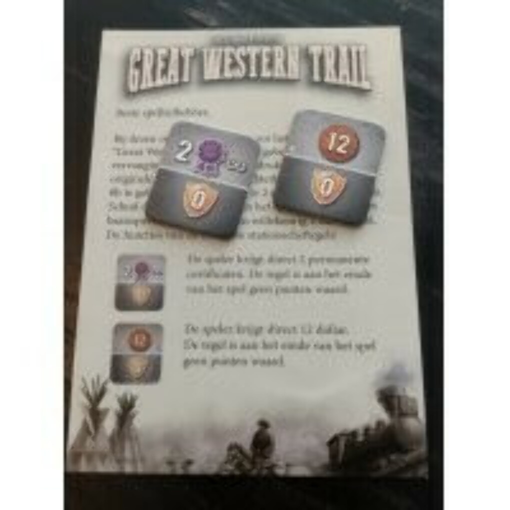 Great Western Trail: Promo Station Master Tiles