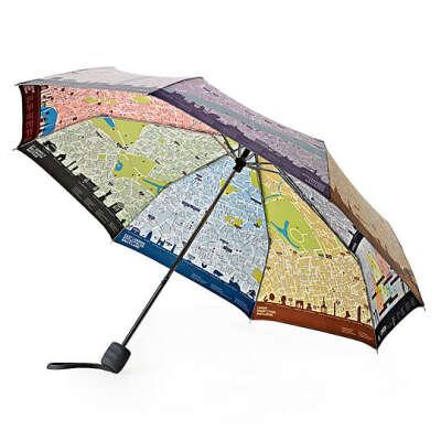 Зонт складной London Map