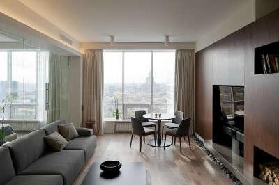 Уютная квартира с отличным видом на Москву