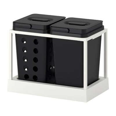 ВАРЬЕРА / УТРУСТА Мусорные контейнеры для шкафа - IKEA